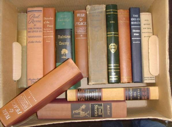 2019: LOT (13) OLDER BOOKS TOMORROW WILL BE BETTER; PAU
