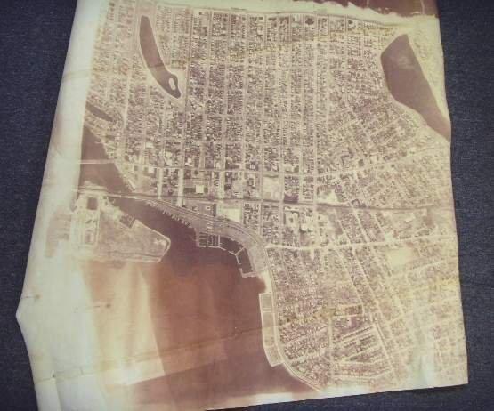 2022: VINTAGE BELMAR NJ AERIAL VIEW & MAP LOT