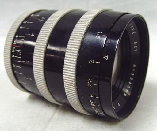 782: P. ANGENIEUX PARIS CAMERA LENS TYPE S21 #334089 IN