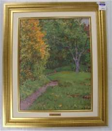 1011: K.YUON SIGNED RUSSIAN OIL PAINTING IMPRESSIONIST