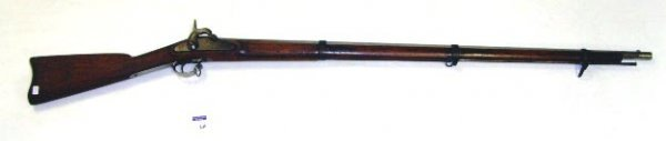 120: ANTIQUE WHITNEY - VILLE AMERICAN RIFLE - 1863 - 56