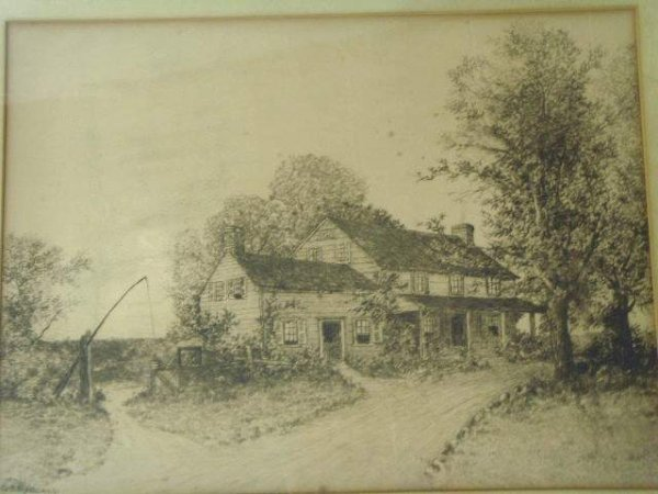 209: G.H. Randall signed Etching - 2