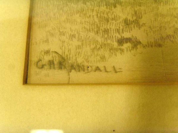 209: G.H. Randall signed Etching - 3