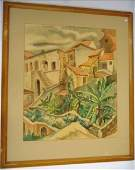 258 Bertram Goodman signed Watercolor