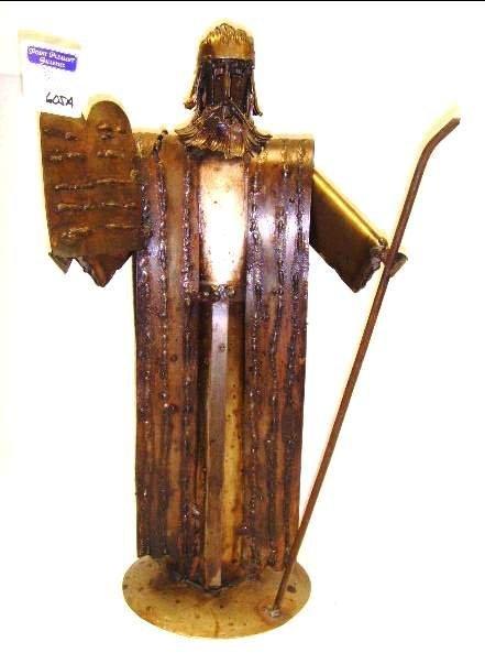 605A: Folk Art Moses Figure