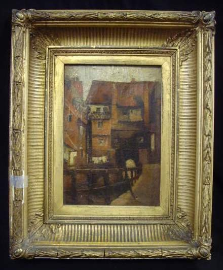 1304: Signed Oil Painting