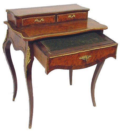 179: BRONZE MOUNTED FRENCH LADIES DESK