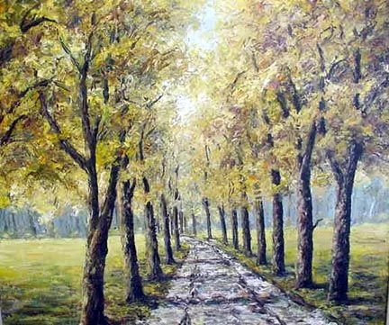 19: SIGNED OIL ON CANVAS