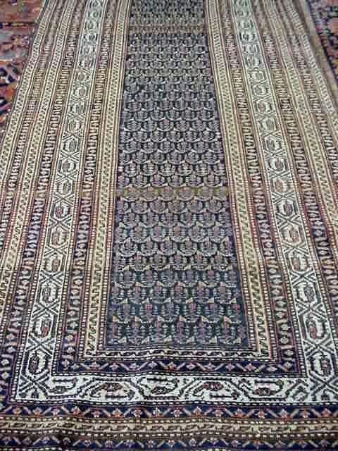 102: ANTIQUE CAUCASIAN PERSIAN CARPET