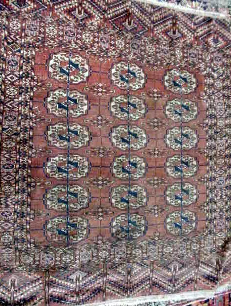 106: ANTIQUE PERSIAN CARPET