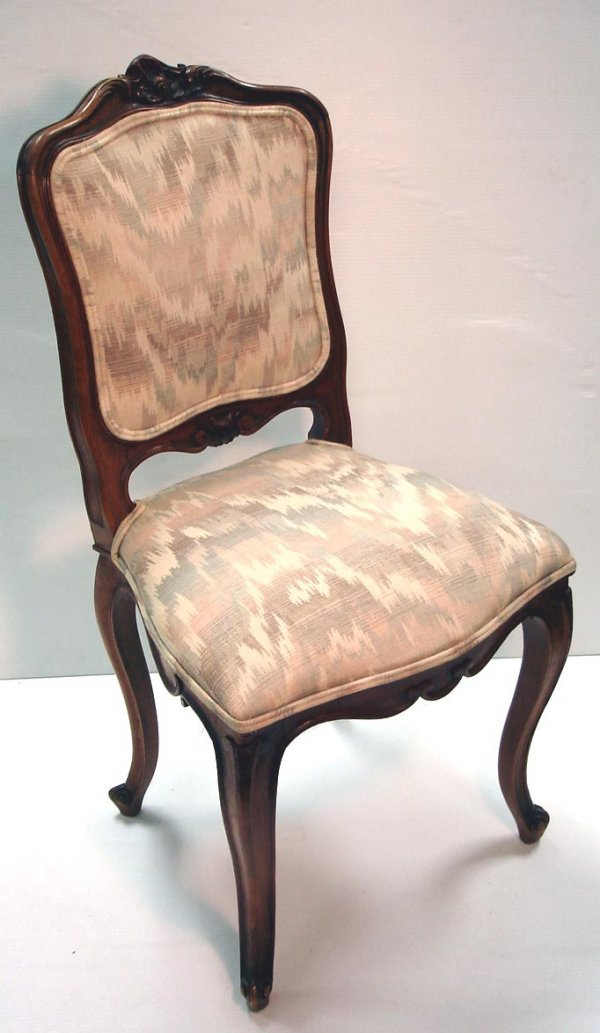 120: SET OF 6 CARVED FRENCH VICTORIAN CHAIRS
