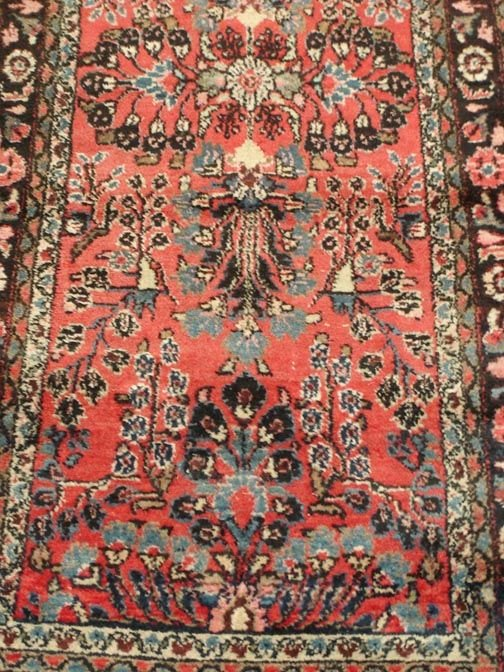 622: 622A; ANTIQUE HANDMADE PERSIAN RUG