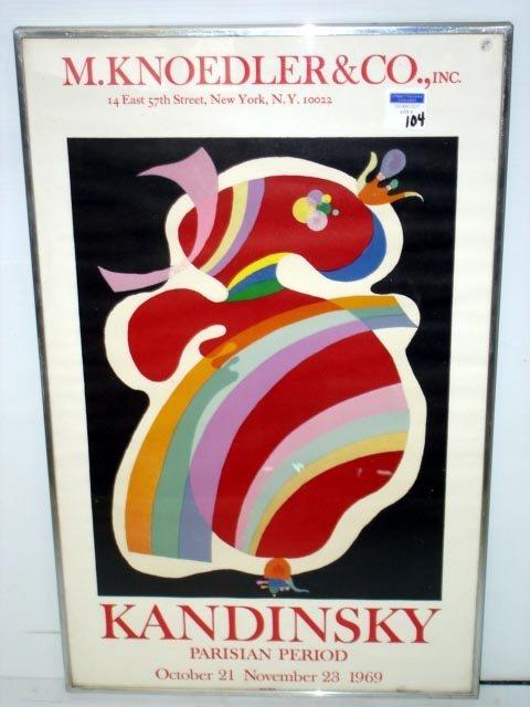 104: KANDINSKY PARISIAN NY POSTER