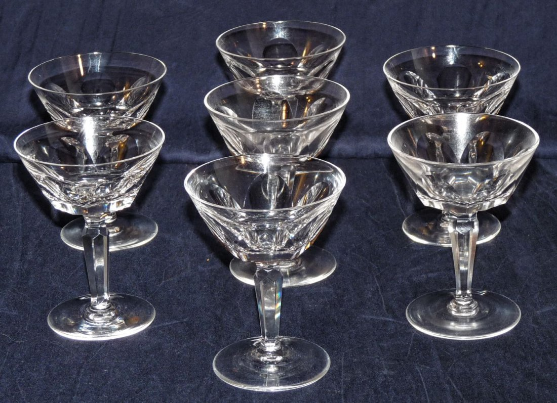 Waterford crystal sherberts