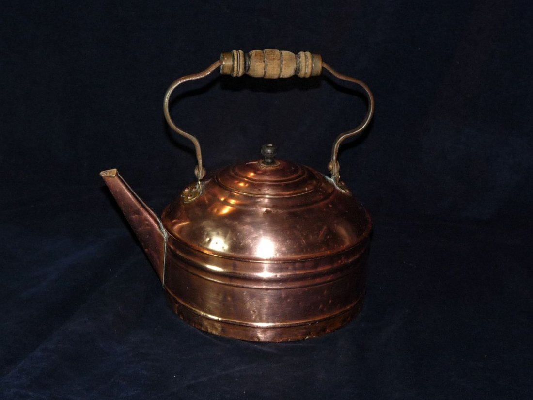Rome Mfg Copper Hot Water Kettle