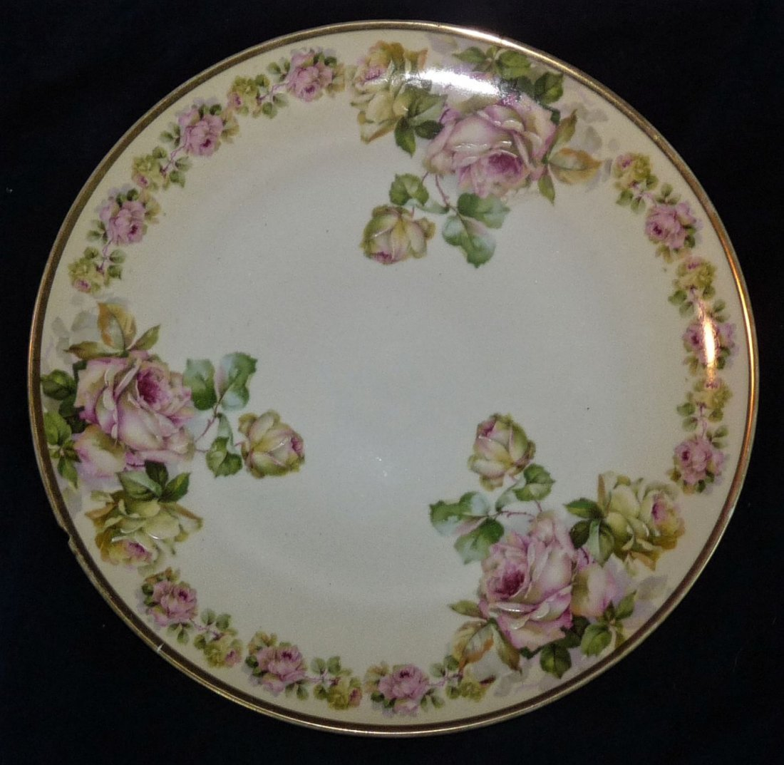 Hand Painted Platter, Prussia