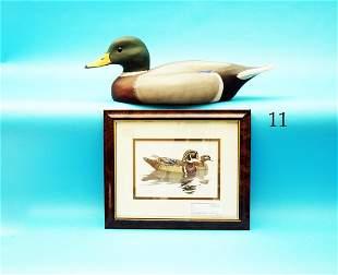 MALLARD DRAKE by Bud and Kevin Hammell,  Pt. Pleasant,