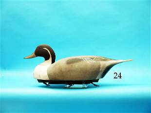 OVERSIZED PINTAIL DRAKE by the  Wildfowler Decoy Co.,