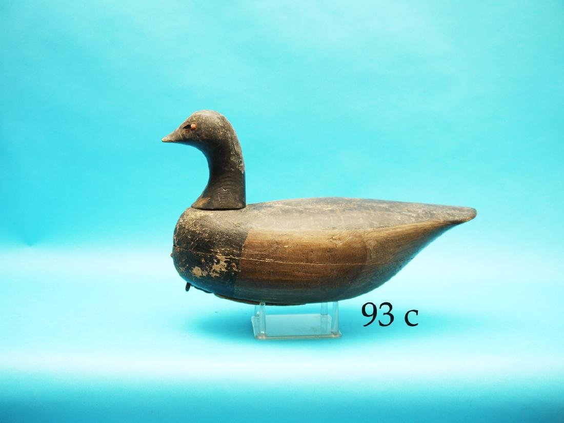 EARLY BRANT by Ira Hudson, Chincoteague, VA. Appears to