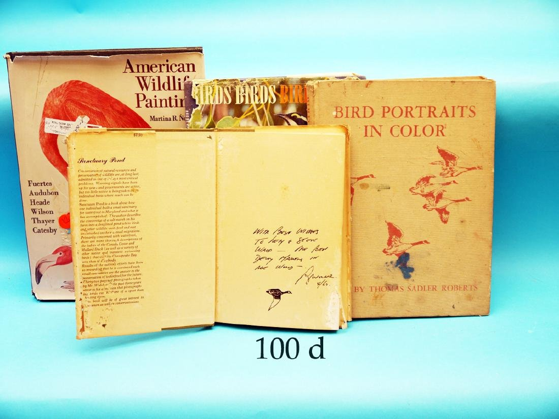 FOUR BOOKS FROM THE LIBRARY  OF LEMUEL T. WARD,