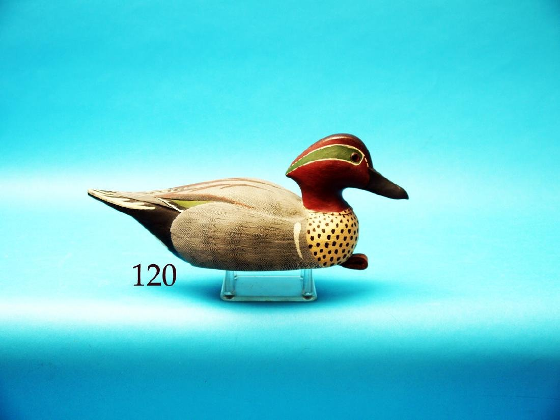 GREEN WING TEAL DRAKE by Henry  Brewer, Tallahassee,