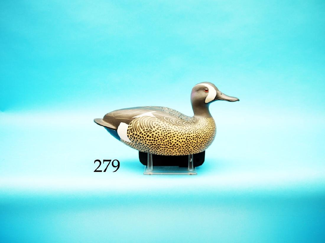 BLUE WING TEAL DRAKE by Jon  Box. Competition model.