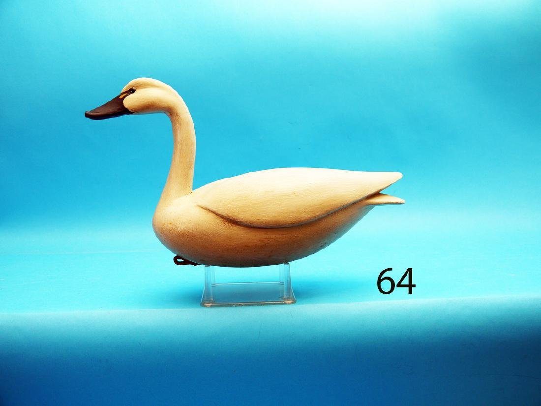 """ONE-QUARTER SIZE SWAN by Forrest """"Bud"""" Jennings,"""