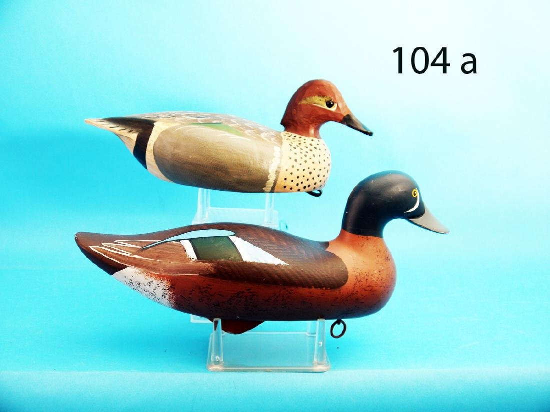 GREEN WING TEAL DRAKE by Jimmy Bowden. Very good