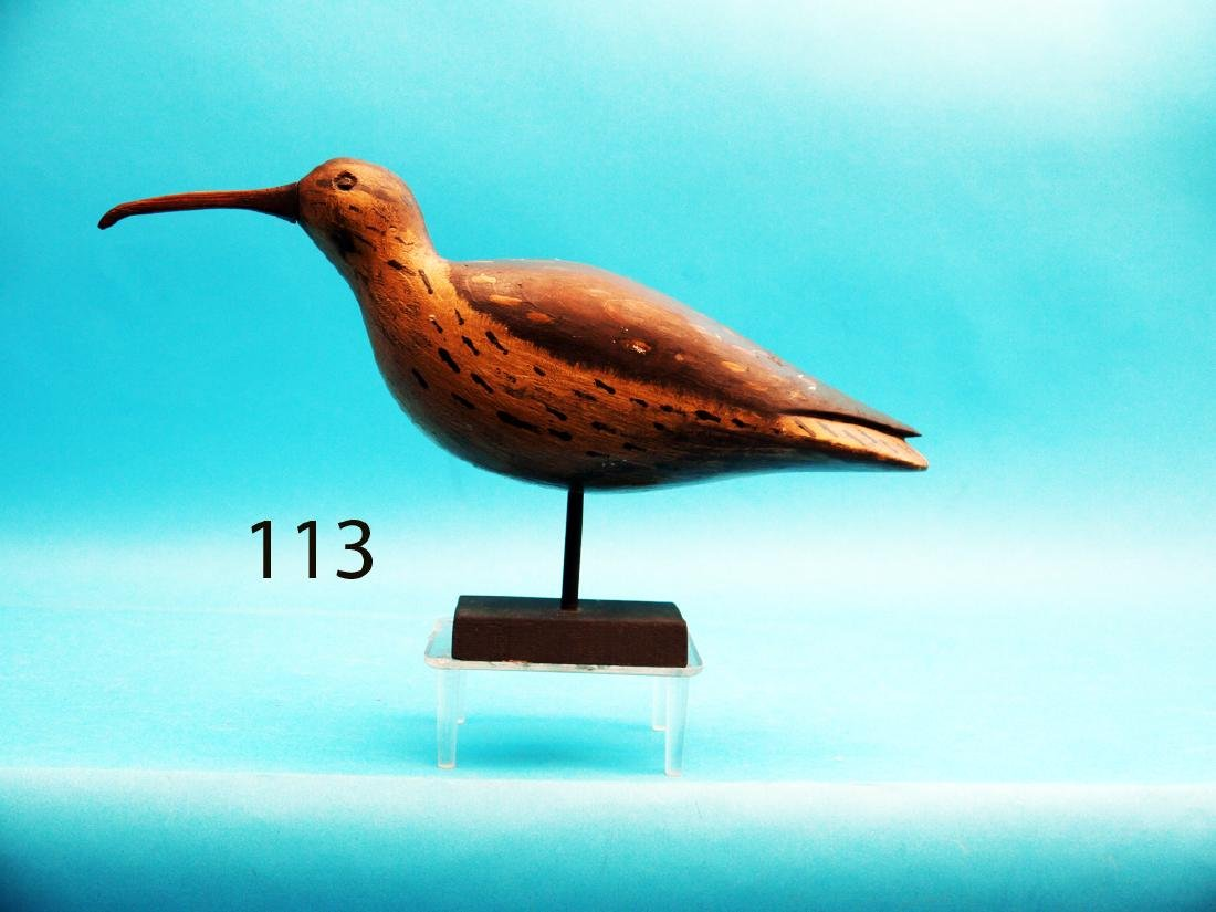 """EARLY CURLEW by Delbert """"Cigar"""" Daisey, Chincoteague,"""