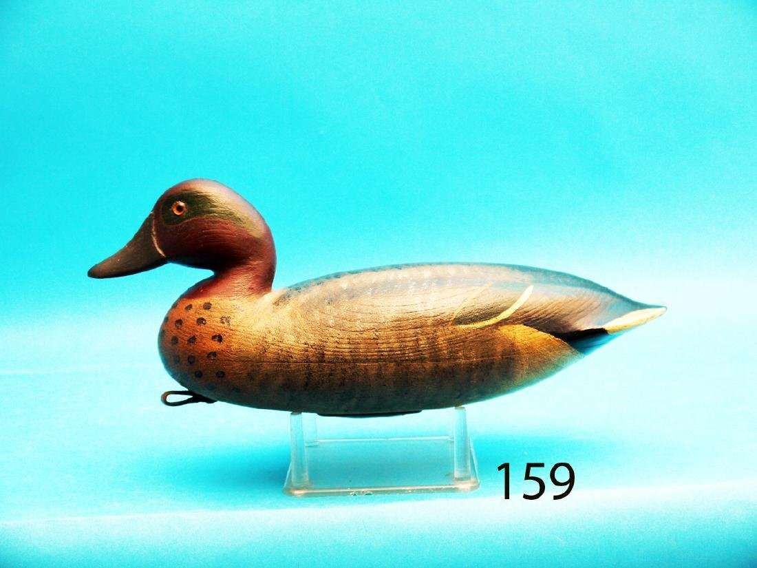 FINE GREEN WING TEAL DRAKE by Bob Seabrook, Absecon,