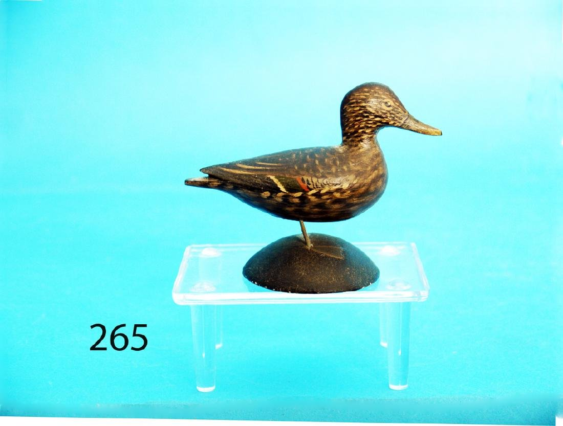 VERY FINE MINIATURE PINTAIL HEN by A. Elmer Crowell,