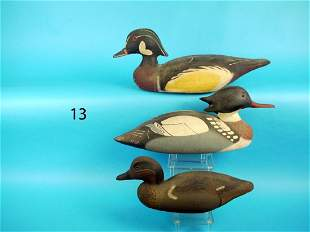 THREE RARE DECOYS by the Herter's Decoy Co