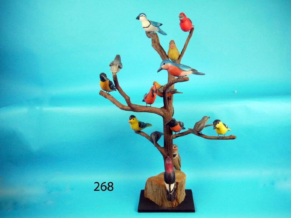 """BIRD TREE by Forrest """"Bud"""" Jennings"""