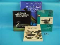 FOUR DECOY BOOKS