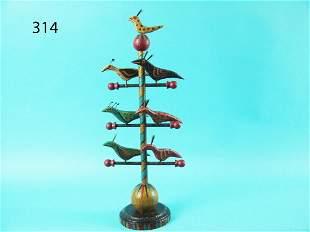 MINIATURE BIRD TREE, M. MICHENER