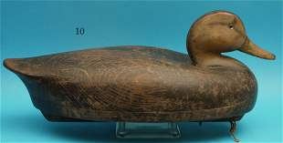 BLACK DUCK by the Wildfowler Decoy Co., Old Saybrook,