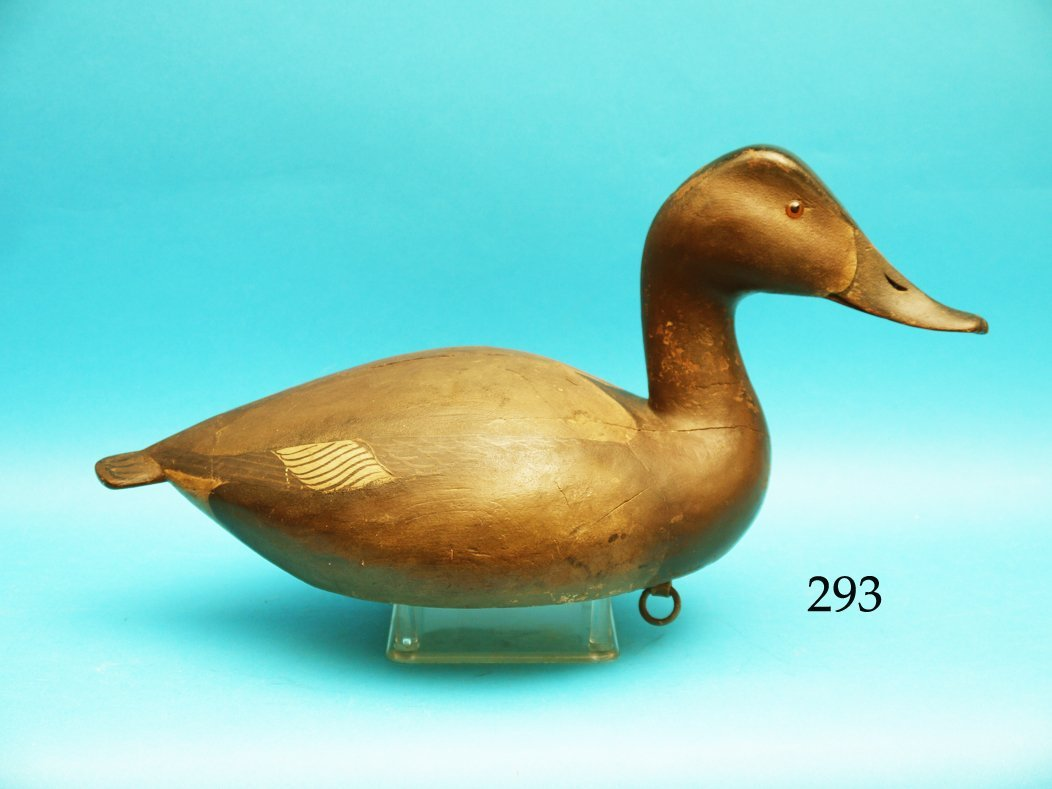 EXTREMELY FINE AND RARE CANVASBACK HEN by the L.T. Ward