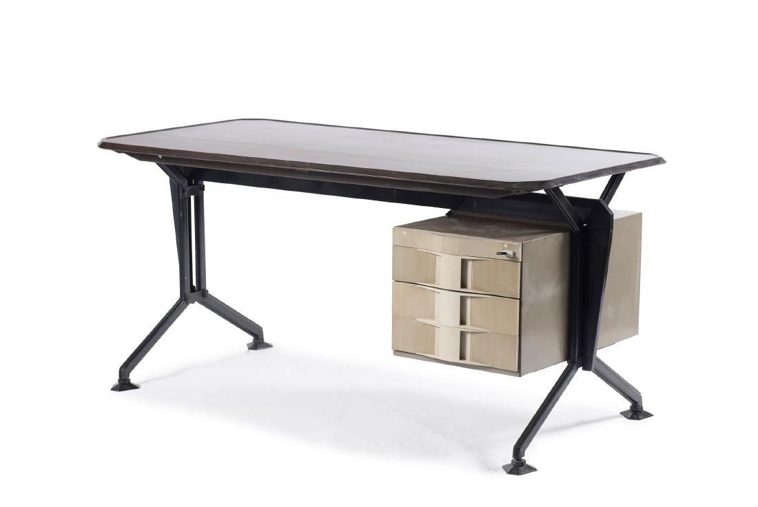'Arco' writing desk, 1963 - 4