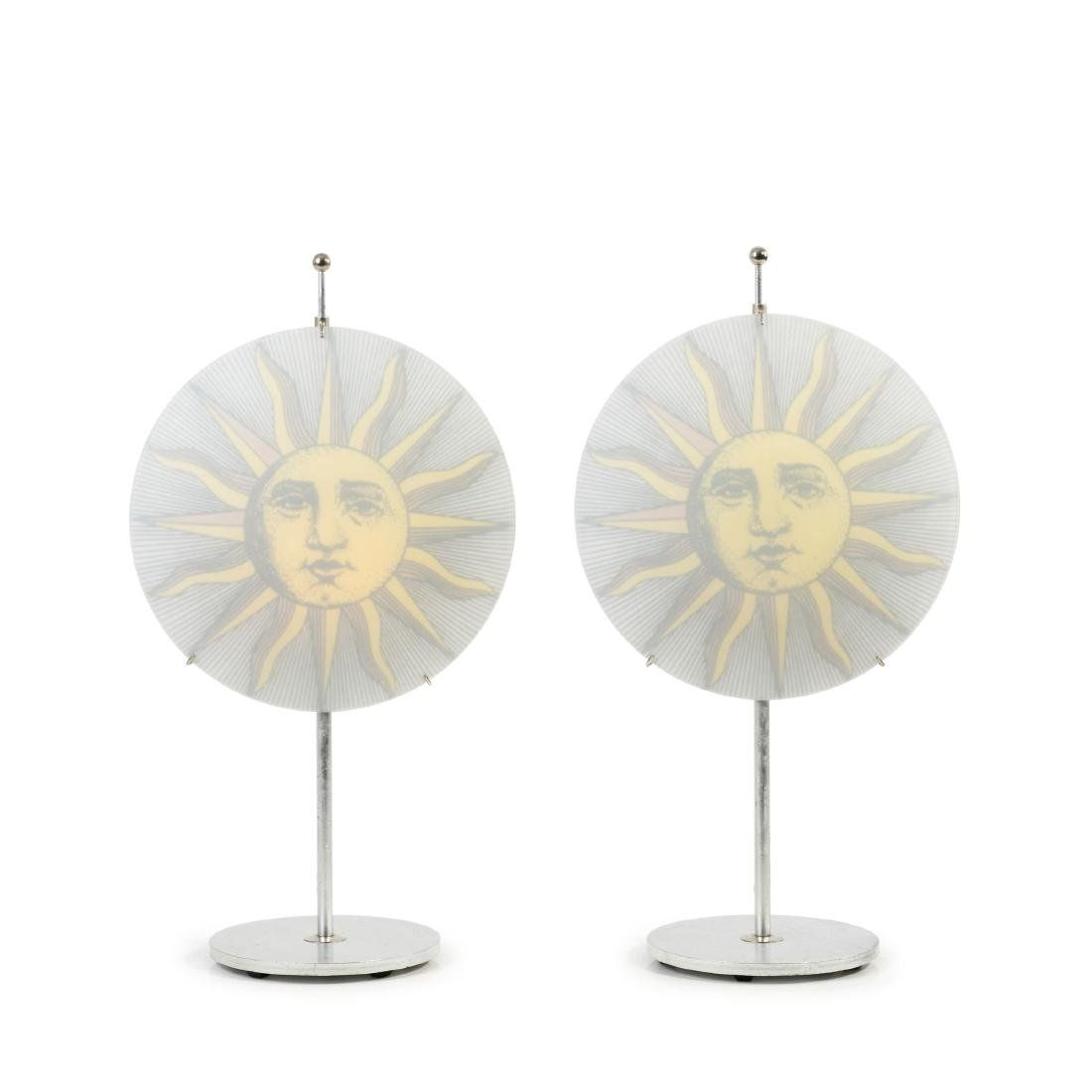 Two 'Sole' table lights, c1995