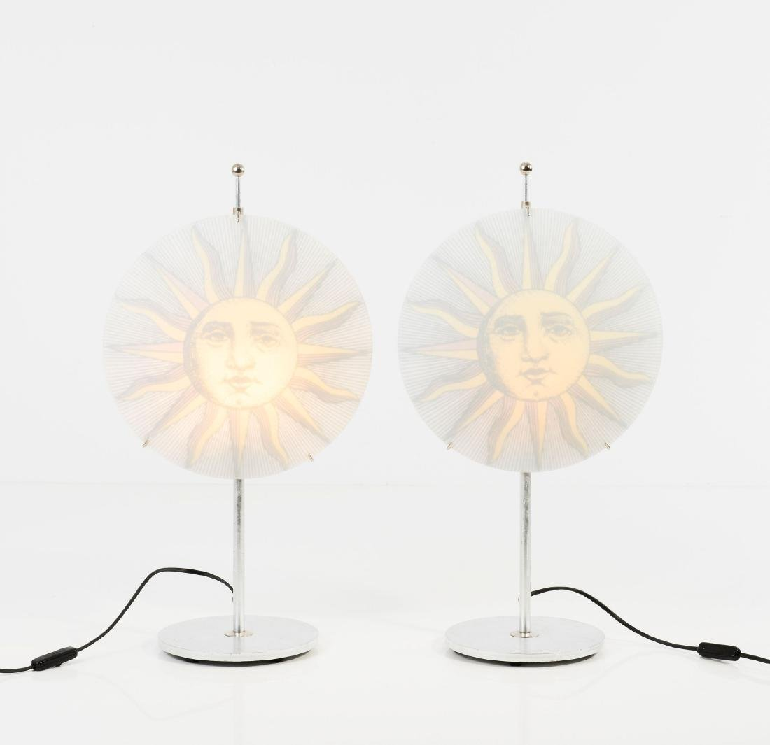 Two 'Sole' table lights, c1995 - 2