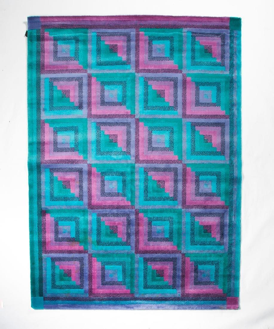 'Fiesta' carpet, 1980s - 2