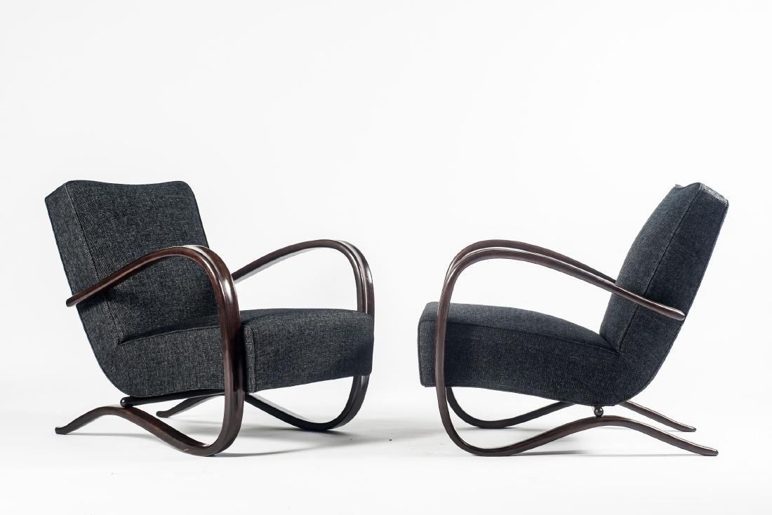 Two 'H 269' easy chairs, 1930/40s - 2