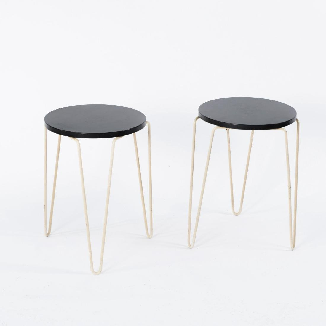 Two stools, c1950 - 2