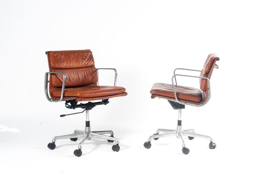Two 'Soft Pad' desk chairs, 1969