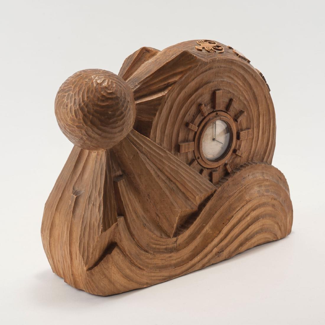 Anthroposophic table clock, 1920s