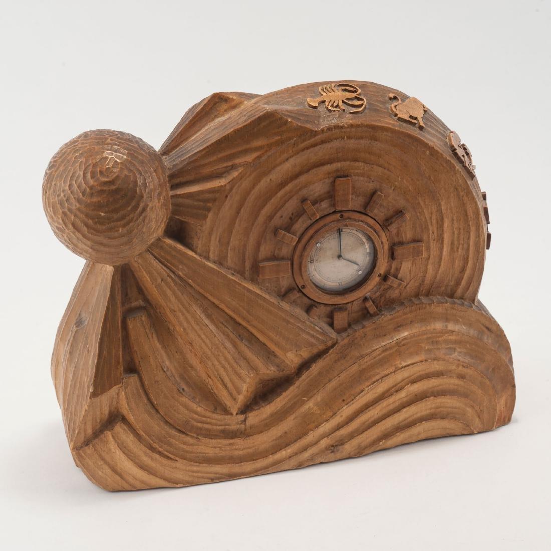 Anthroposophic table clock, 1920s - 2