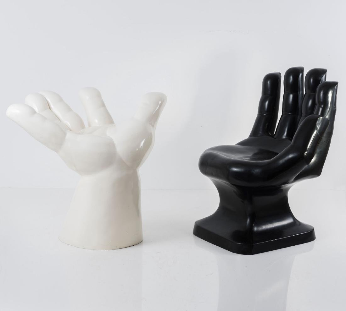Two 'Hand' chairs, 1970s