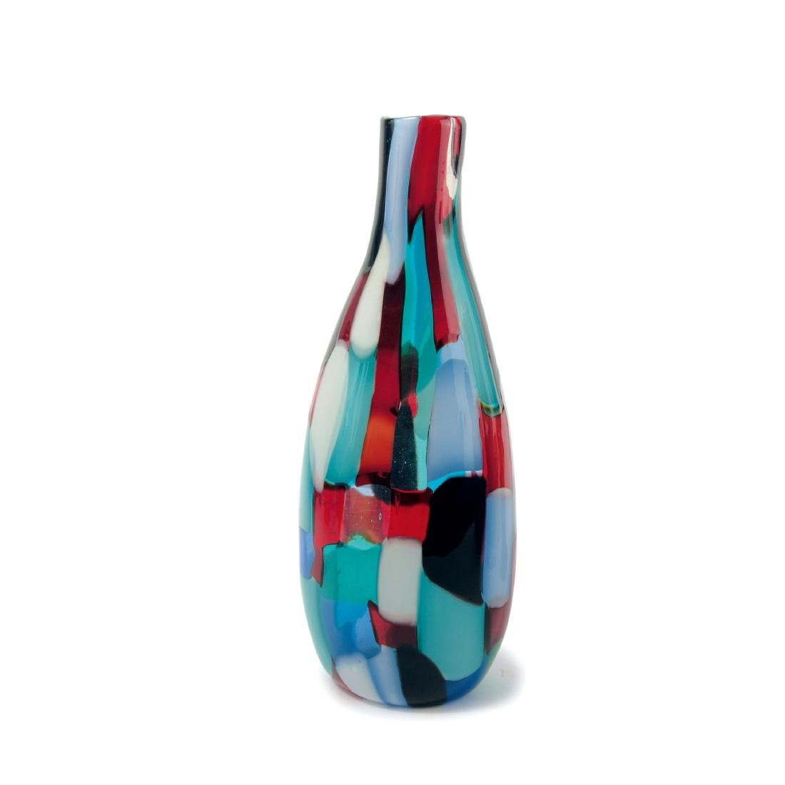 Bottle-shaped 'Pezzato' vase, c1950