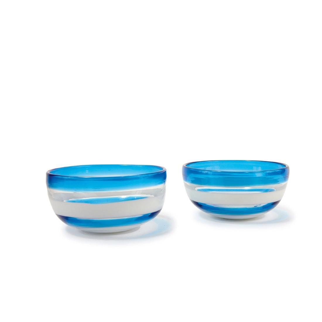 Two 'A fasce' bowls, c1953