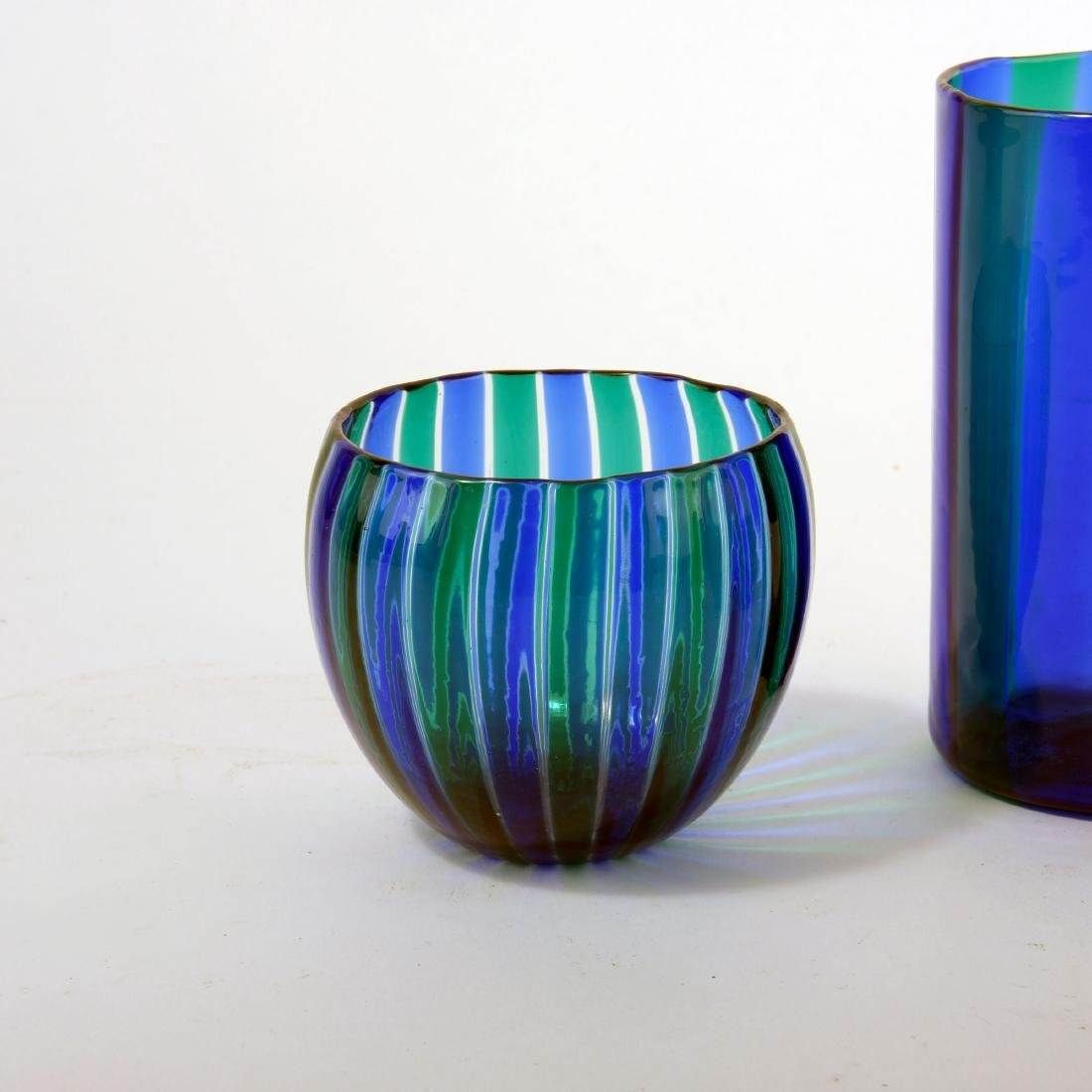 Three 'A canne' vases, 1960s - 3